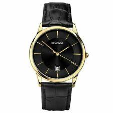 Sekonda Gents Watch Black Strap & Dial Date 1370 RRP £39.99