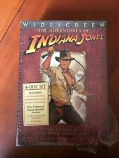 The Adventures of Indiana Jones : Complete Collection (DVD 2003) Widescreen New