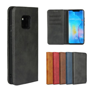 For Huawei Mate 20 Pro/ 20 X Lite Luxury Magnetic Leather Wallet Flip Case Cover