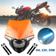 12V Motorcycle Headlight Cover LED Street Fit For KTM EXC XCF XCW SX SXF 250/450