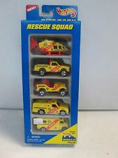 Hot Wheels 5 Car Gift Pack Rescue Squad w helicopter