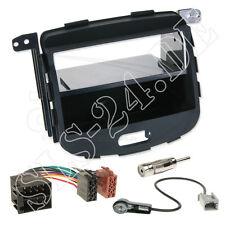 1-DIN Autoradio ISO Adapter Radioblende Ablagefach Rahmen Einbauset HYUNDAI i10
