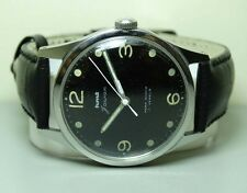 Vintage Military Hmt WINDING 17 JEWELS GB07937 MENS WATCH OLD USED Antique B842