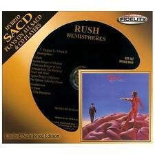 Hemispheres [SACD] by Rush (CD, Aug-2013, Audio Fidelity) NEW #0344