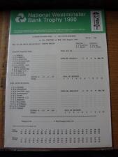 15/08/1990 Cricket Scorecard: Lancashire v Middlesex  -  1 Day