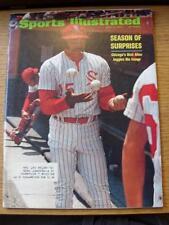12/06/1972 Sports Illustrated Magazine:  Vol 36 - No 24 - (Cover Content) Season