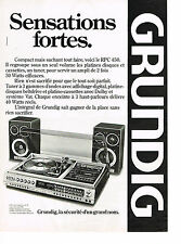 PUBLICITE ADVERTISING 034   1979   GRUNDIG     HI-FI  platine tunner