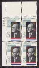 Scott #1275...5 Cent....Stevenson ....25 Plate Blocks...100 Stamps