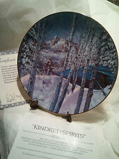W.S George Collectors Plate ~  Kindred Spirits - ByJulie Kramer Cole - LT#