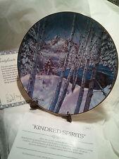 W.S George Collectors Plate ~  Kindred Spirits - ByJulie Kramer Cole - LT#