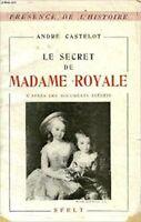 Le secret de madame royale