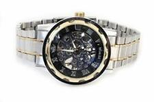 Markenlose Silber Armbanduhren mit Armband aus echtem Leder