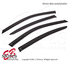 For Lexus GS300 GS400 1998-2005 Outside-Mounted Dark Smoke JDM Window Visors 4pc