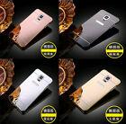 Luxury Aluminum Ultra-thin Mirror Metal Case Cover For Samsung Phones