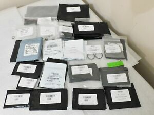 WATERS ACQUITY UPLC DEGASSED NI/GRAPHITE-SI BLACK VITON O-RINGS NEW LARGE LOT
