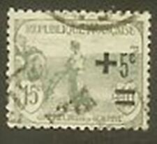 """FRANCE TIMBRE STAMP N° 164 """" ORPHELINS 1922 LABOUREUR """" OBLITERE TB"""