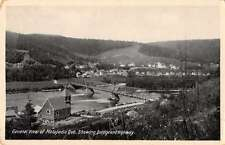 Matapedia Quebec Canada general view bridge and highway antique pc Z28680