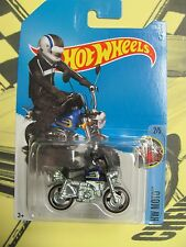 HOT WHEELS 2017 HW MOTO HONDA MONKEY Z50 #2/5 BLUE 5avail