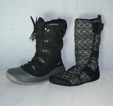 NEW * TEVA 2 in 1 SKI SNOW BOOTS & REMOVABLE LINERS SLIPPERS THINSULATE 4.5 5