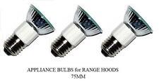 Pack of 3, LSE Lighting Z0B0011 50W JDR E27 75mm Range Hood Appliance Bulbs