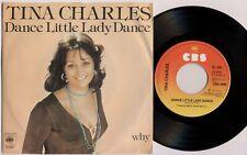 "TINA CHARLES 'Dance Little Lady Dance / Why' 1976 Dutch 7"" / 45 vinyl single"