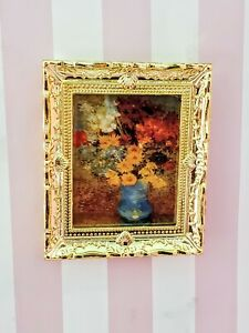 💕1:12 Miniature Dollhouse Accessory Framed Art Wall Picture  Painting Decor