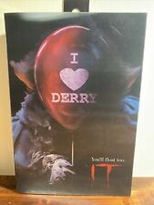 Neca IT: I Love Derry*7 inch Figure*You'll Float Too*Pennywise*NEW*Horror*