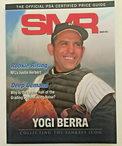 SMR PSA Price Guide Magazine March 2021 Yogi Berra New