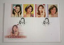 珍贵火红中国台湾首日封~邓丽君 China Taiwan Teresa Teng famous Singer 4v Stamp FDC 2015