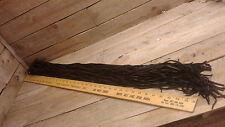 """Deer Lace, black color 1/8"""" 52 laces"""
