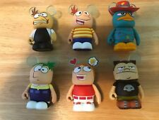 Disney Vinylmation Phineas and Ferb Complete Collection