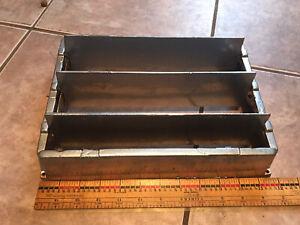 Metal Floor Vent Vintage Dial Open Close Silver Works 12x9 Register