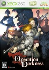 Operation Darkness 360 success Microsoft Xbox 360 From Japan