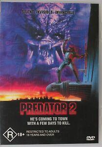 Predator 2 DVD - Danny Glover - Free Post