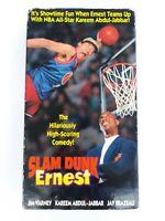 SLAM DUNK ERNEST, HILARIOUSLY COMEDY, VHS- Kareem Abdul-Jabbar - Free Shipping!