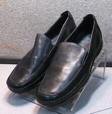 23ac2253e2b EDLEF BLACK MMPF60 Men s Shoes Size 13 Eur 12.5 Leather Slip On Loafer  Mephisto