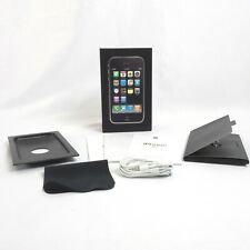 Apple iPhone 3G Original BOX ONLY Black 16GB with Manuals and Earphones