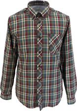 Ben Sherman Mens Loden Green Check Long Sleeved Shirts