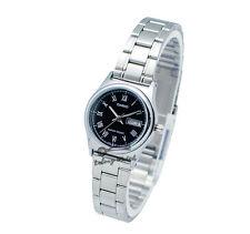 -Casio LTPV006D-1B Ladies' Metal Fashion Watch Brand New & 100% Authentic