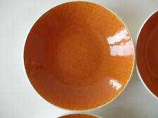6 assiettes creuses corail Salins type Deauville ø 18,5 cm