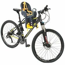 Easy to Install Front Baby Seat Bicycle Carrier with Handrail by CyclingDeal