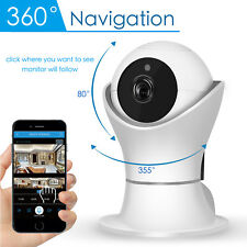 Wireless 1080P Panoramic Pan Tilt Security IP WIFI Network Camera Monitor Webcam