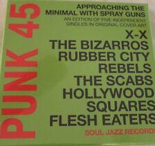 "Soul Jazz Records NEW SEALED 7"" vinyl boxset Approaching the Minimal RSD 2018"