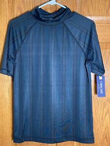 CHEROKEE Boy's XL 16/18 Swim Rash Guard UPF50+ UV Protection Shirt NWT NEW
