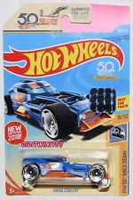 Hot Wheels 2018 Hw 50Th Race Team Hw50 Concept Blue Factory Sealed