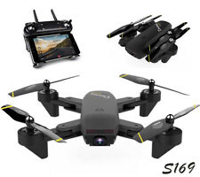 S169 Wifi FPV Optical Flow Selfie RC Quadcopter Dual HD Camera Drone