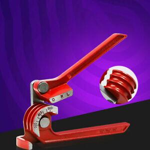 Manual Copper Pipe Bender 90°/180° Bending Tube Pipes Aluminum Alloy Tools