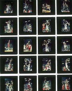 LQQK 40 vintage 1980s basketball slides, CLEVELAND CAVALIERS #1