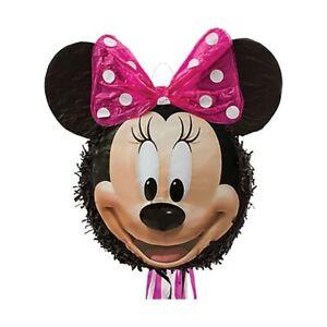 Ratón Minnie Unicornio Cumpleaños Niños Set Decoración de Fiesta Mouse