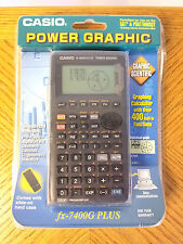 NIB Casio FX-7400G Plus Power Graphic Calculator CIB Sealed